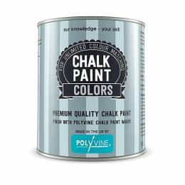 Χρώμα Κιμωλίας Chalk Paint COLORS Polyvine 1 lt